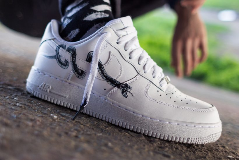 Nike Air Force 1 Snake custom