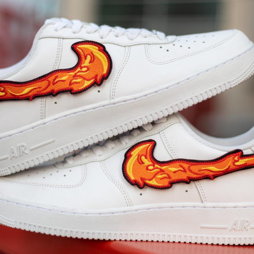 Fire Patcher wymienny swoosh do Nike Air Force 1