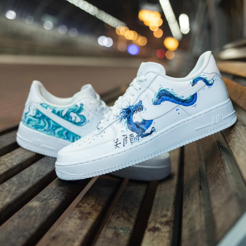 Nike AF1 Dragon Custom