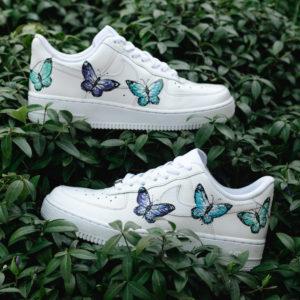 Nike af1 butterfly custom